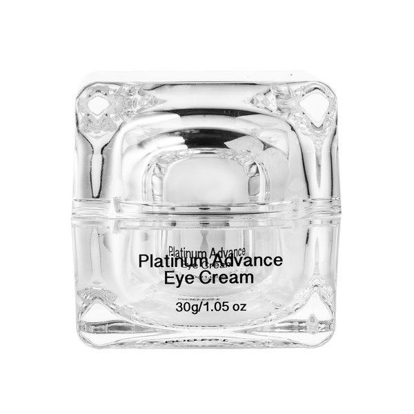 Platinum Advance Eye Cream back