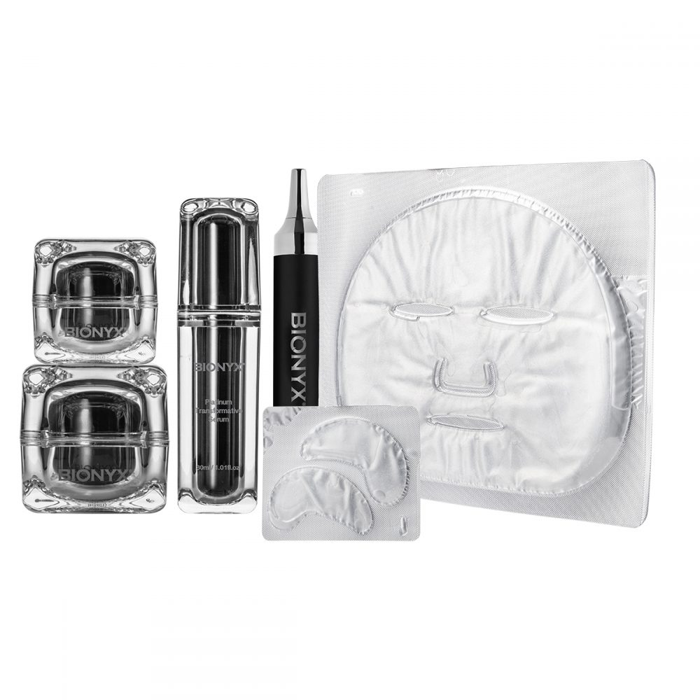 Platinum Transformative Collection + Platinum Facial & Eye Routine