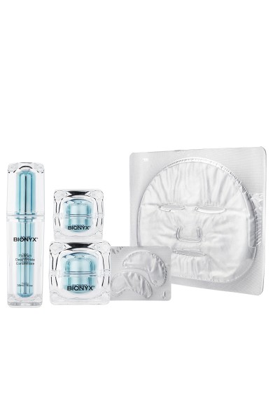 Bionyx Biolift Collection + Platinum Facial & Eye Mask Routine