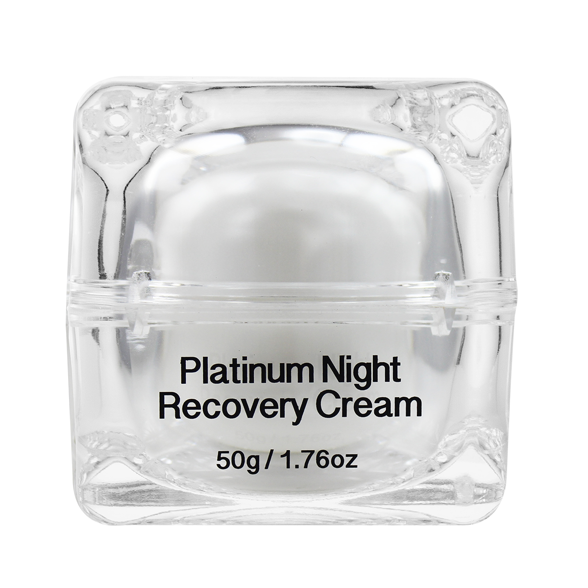 Platinum Night Recovery Cream back