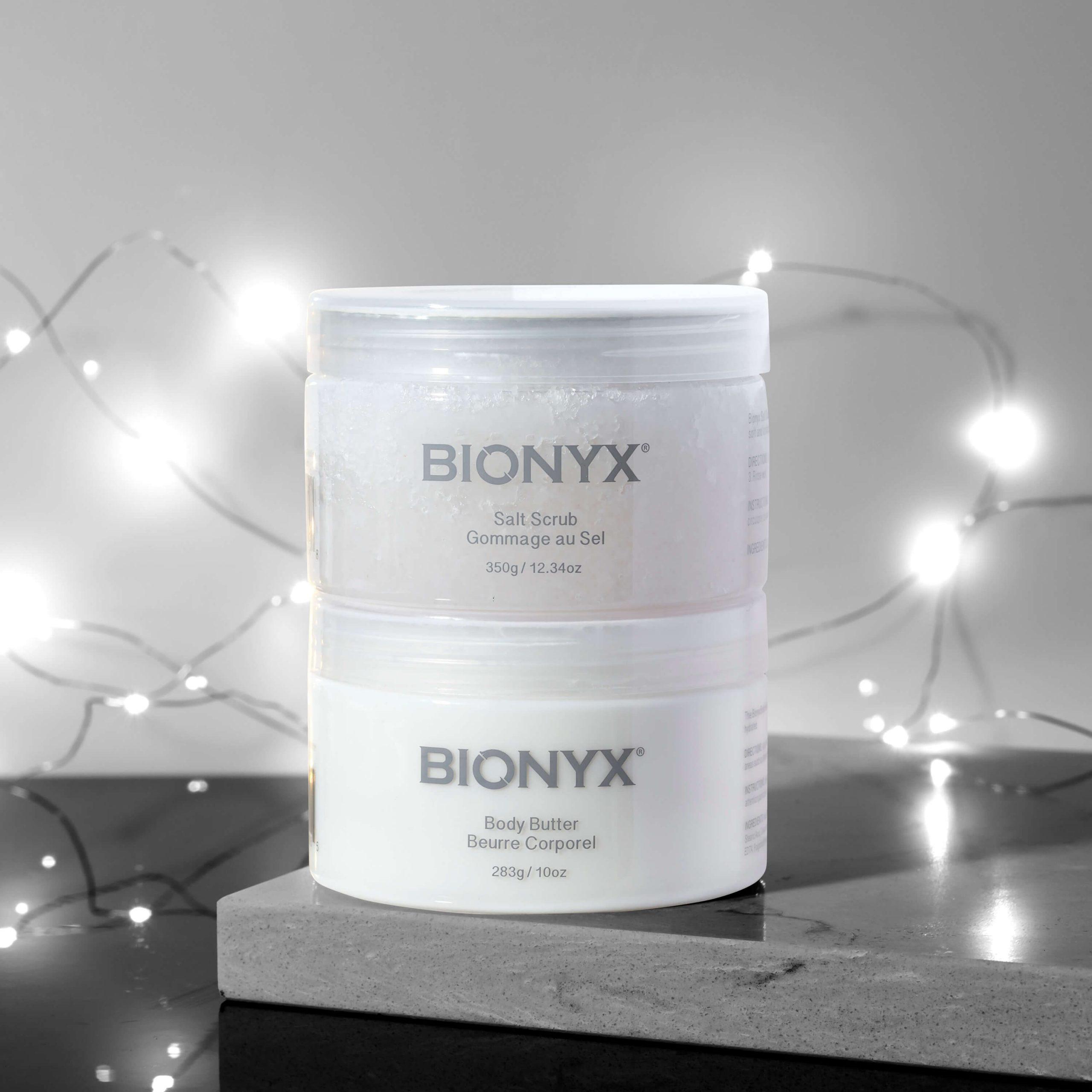 Bionyx Salt Scrub and Body Butter