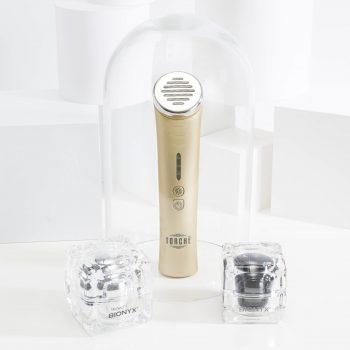 LED skincare device