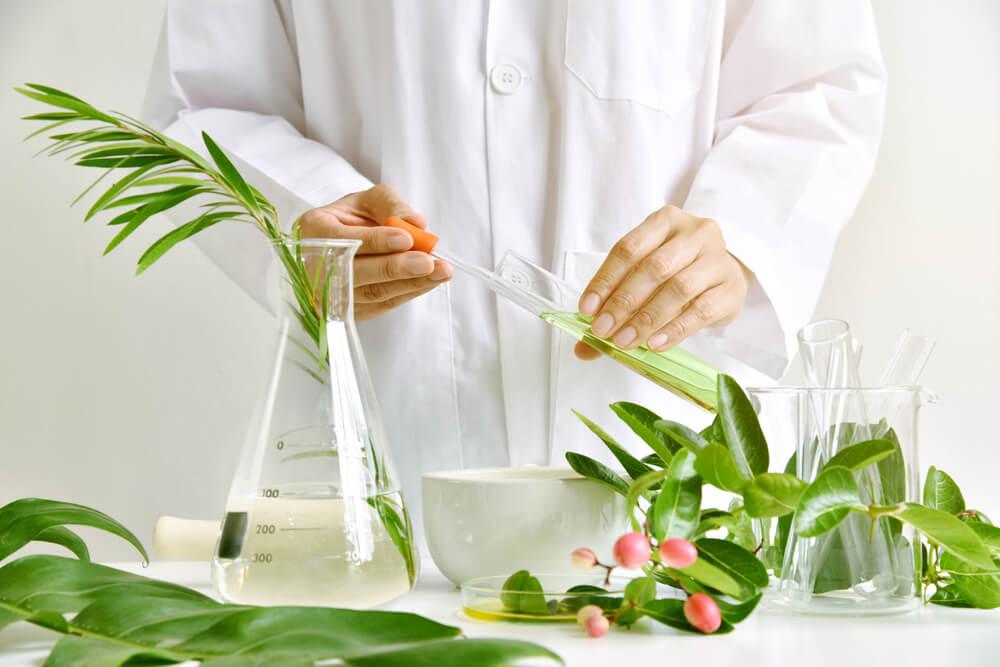 Natural ingredients in lab